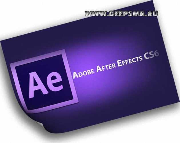 After Effects CS6.